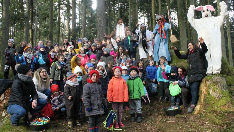 Le Lapin de Pâques retrouvé dans la forêt de la Heindenkirch !