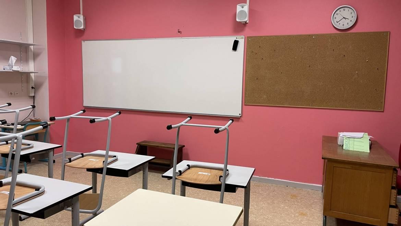 Salle de classe: un coup de frais!